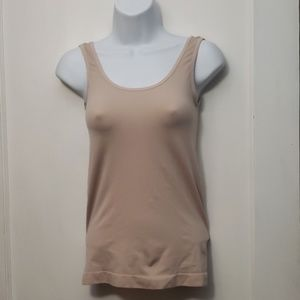Nude color stretch cami